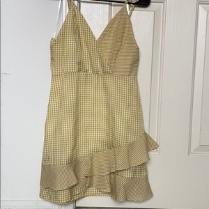 ASOS gingham sundress NWOT